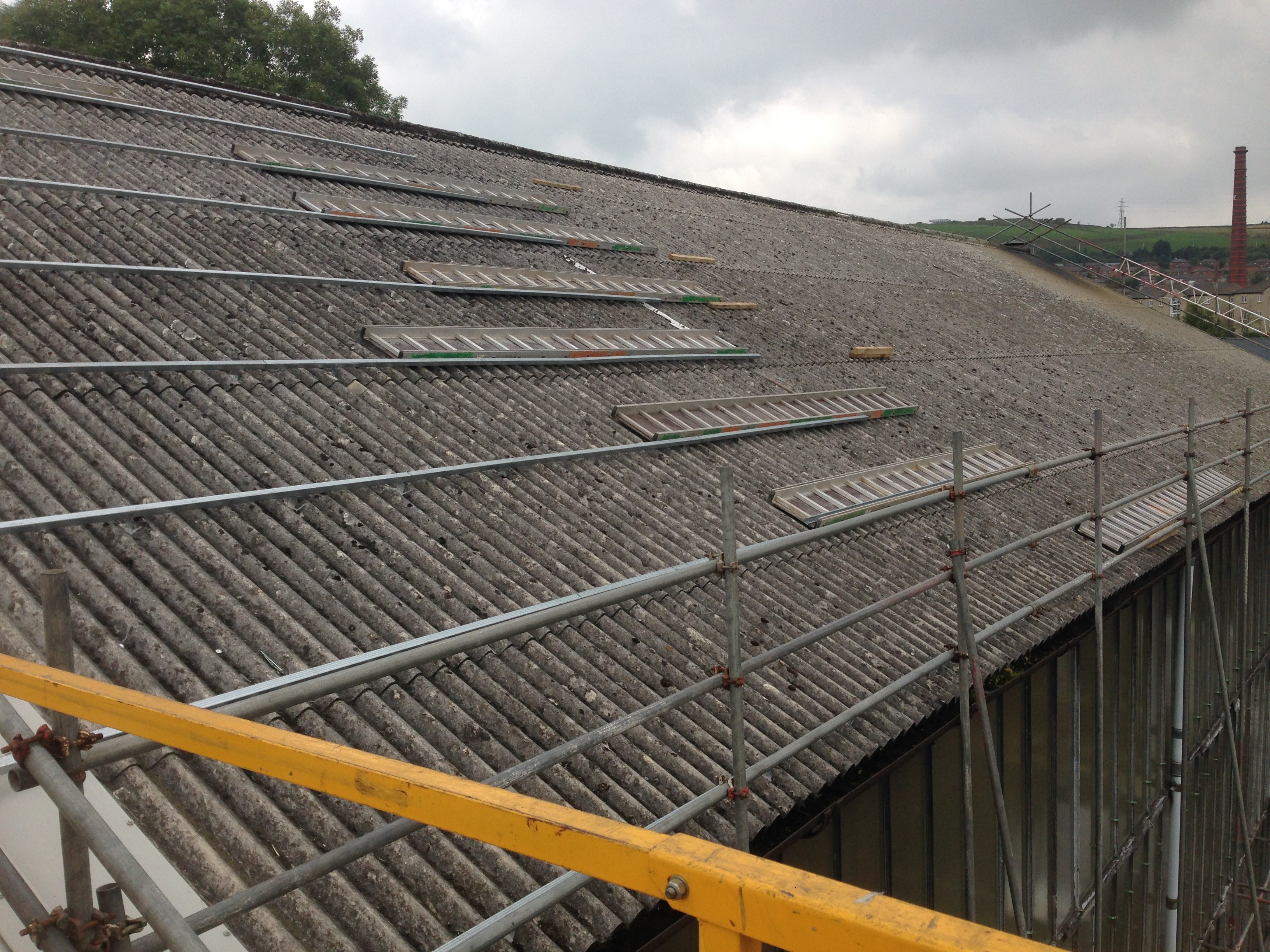 Overcladding To Existing Roofs Amp Asbestos Company Alltite
