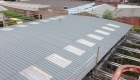 Roofing sheets and lights