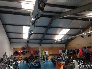 rooflights in shop