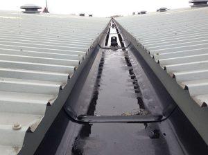 Lining gutters