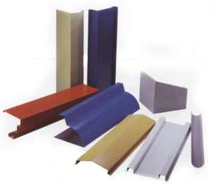 PVC Coated Steel Flashings